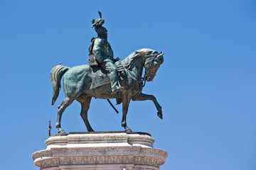 Roma - Altare della Patria - Vittorio Emanuele II
