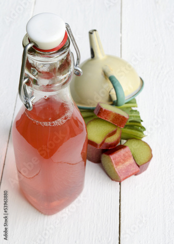 Rhubarb juice