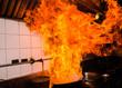 Leinwandbild Motiv Stir fire very hot