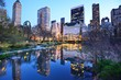 New York City Central Park Lake