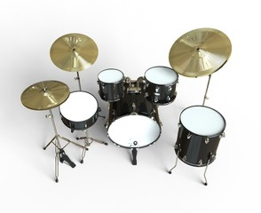 Drum Set Top View