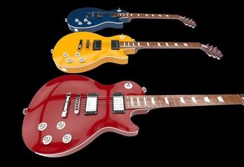 Guitars Closeup Shot