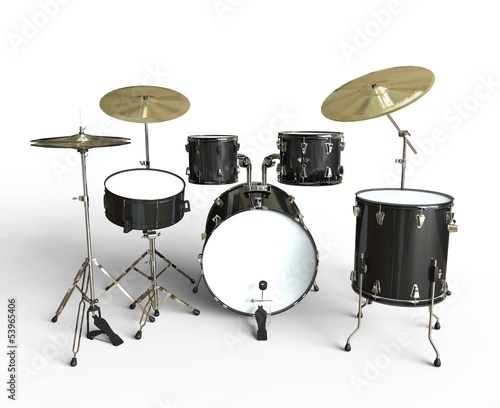 Drum Set Front View