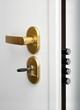 Wooden doors with lock 19
