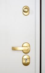 Wooden doors with lock 17