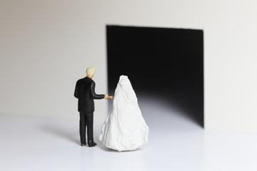 結婚式の入口