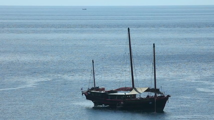 Big fishing boat in the Andaman sea.