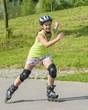 dynamisch Inline-Skaten