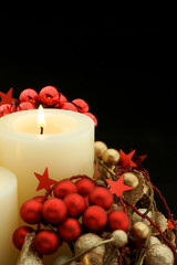 Advent Holiday Candle