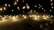 rice white light balls falling
