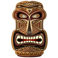 Africa Ethnic Mask Totem-Maschera Etnica Africa
