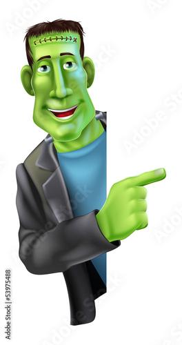Frankensteins monster Pointing
