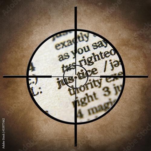 Justice target