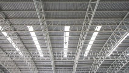 Steel roof.