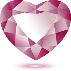 Heart Shape gem