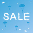 Sale Cloudy Background