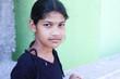 Indian Village Girl Posing to Camera