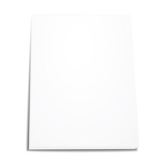 vector stack of paper isolated