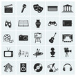 Collection of vector arts icons. - 53984680