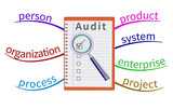 Audit evaluation area in the mind map.