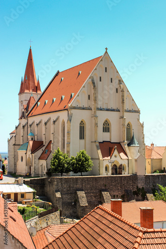 St. Nicholas church in Znojmo