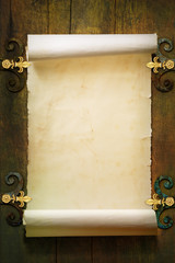 Art Scroll old paper background