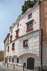 Beautiful town in Czech Republic