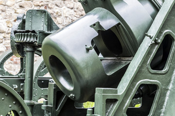 Austro Hungarian WWI Siege Howitzer 305 mm Mörser Model 1911 -