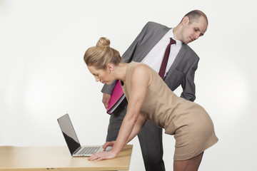 Sexual harassment by the boss