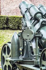 Austro Hungarian WWI Siege Howitzer Škoda 305 mm Mörser Model