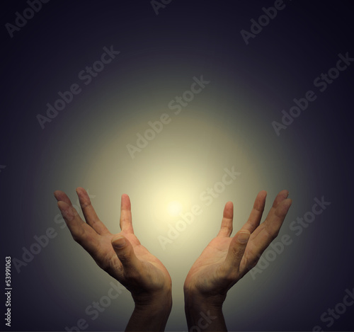 Hands and Healing Light