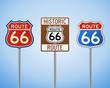Route 66 Vintage Signs