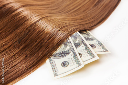 hair on the money