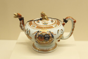 French pattern teapot