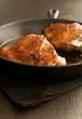 Glazed fried chicken or turkey