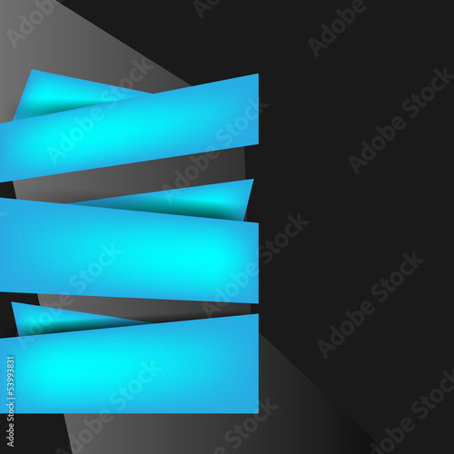 Background with abstract blank for text