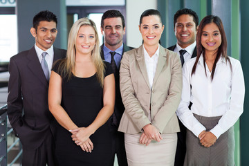 group of young businesspeople