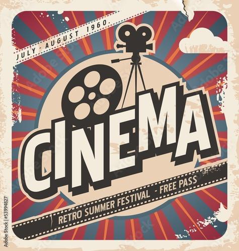 Retro-Kino-Poster