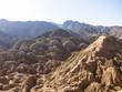View of Danxia landform in Zhangye, Gansu of China
