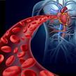 Leinwandbild Motiv Heart Blood Health