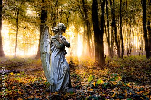 Foto op Plexiglas Standbeeld Statue