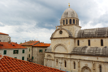 Saint James cathedral in Sibenik, Croatia