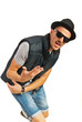 Dancing rapper man