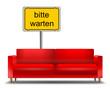 Sofa bitte warten