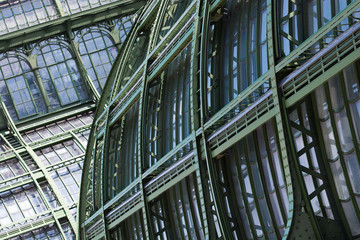 Big old greenhouse (Palmenhaus) in Vienna, Austria