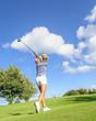 Golfspielerin