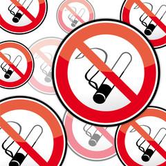 Rauchverbot Schild, Nichtraucher