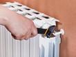 adjusting heating radiator