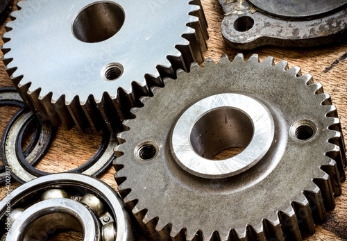 Parts and gears made from special hard steel