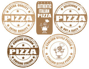 Pizza-stamps
